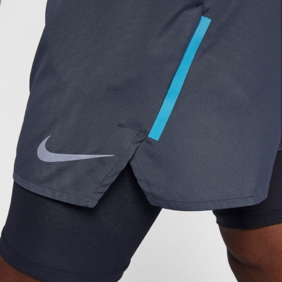 Nike Men's Running Shorts Size Large Dri-fit Euc Superior In Quality